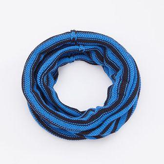 Reserved - Komin w paski - Niebieski