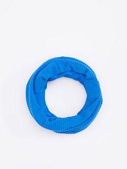 Reserved - Komin w grube prążki - Niebieski