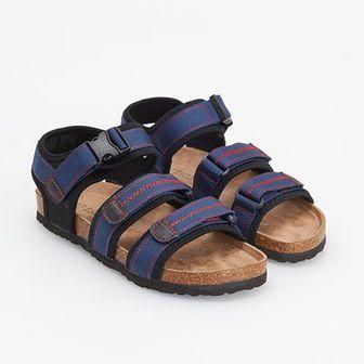 Reserved - Sandały w sportowym stylu - Granatowy