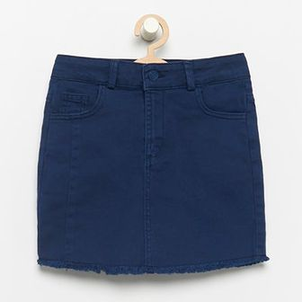 Reserved - Jeansowa krótka spódniczka - Granatowy