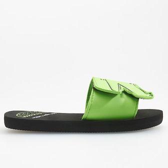 Reserved - Klapki z pianki - Zielony