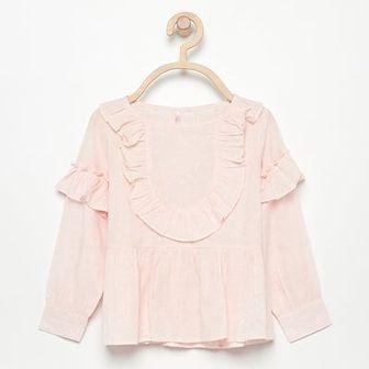 Reserved - Bluzka z błyszczącym włóknem - Różowy