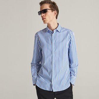 Reserved - Koszula comfort fit w paski - Niebieski