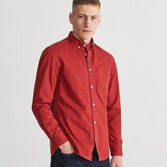 Reserved - Koszula regular fit - Czerwony