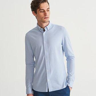 Reserved - Koszula super slim fit - Niebieski
