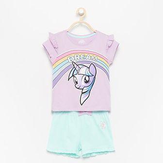 Reserved - Piżama z szortami My Little Pony - Fioletowy