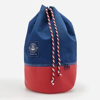 Reserved - Plecak typu worek - Granatowy