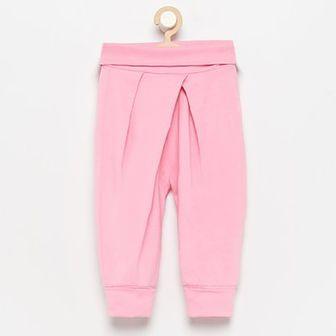 Reserved - Spodnie dresowe - Różowy