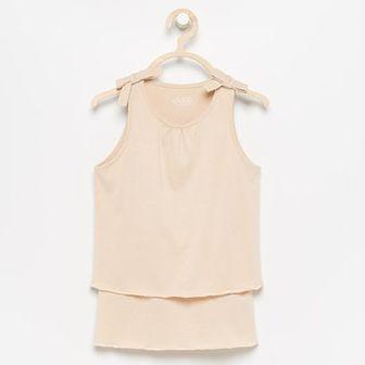 Reserved - Warstwowa bluzka - Beżowy