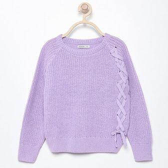 Reserved - Bawełniany sweter - Niebieski