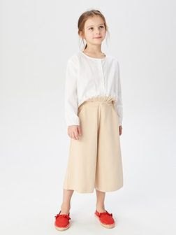 Reserved - Bluzka z supełkiem - Biały