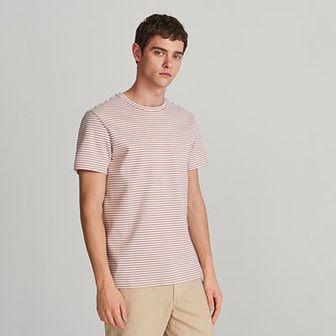 Reserved - T-shirt z bawełny organicznej - Fioletowy