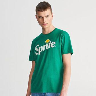 Reserved - T-shirt Sprite - Niebieski