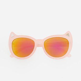 Reserved - Okulary przeciwsłoneczne - Różowy