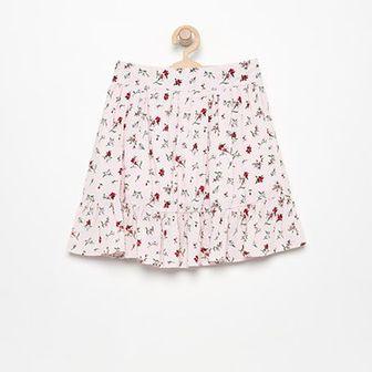 Reserved - Spódniczka w kwiatki - Różowy