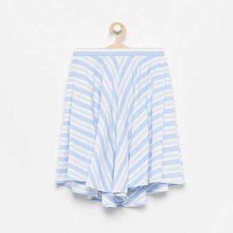 Reserved - Spodnie z bawełny organicznej - Niebieski
