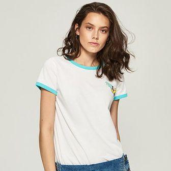 Sinsay - T-shirt atomówki - Biały