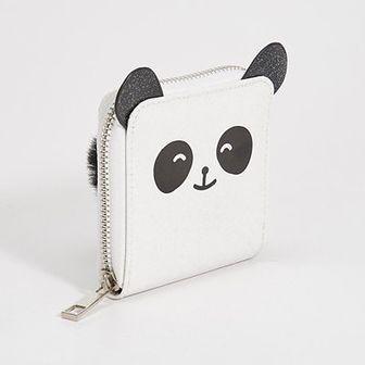 Sinsay - Portfel panda z uszami - Biały