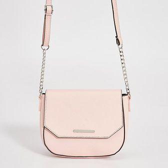 Sinsay - Mała torebka na łańcuszku - Różowy