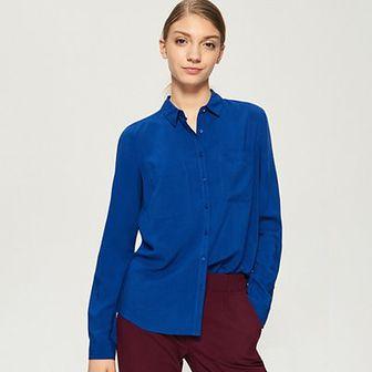 Sinsay - Luźna koszula - Niebieski