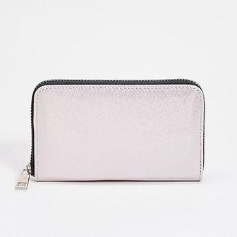 Sinsay - Połyskujący portfel - Różowy