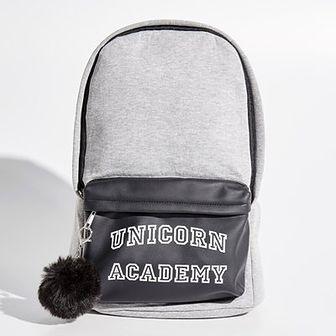 Sinsay - Plecak unicorn academy - Jasny szar