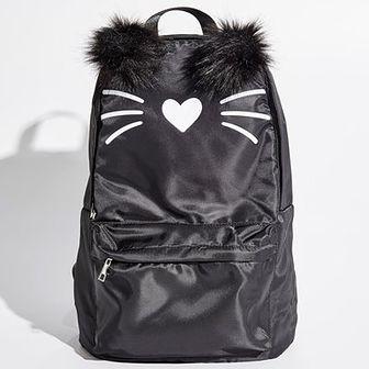 Sinsay - Plecak z puszystymi uszami - Czarny