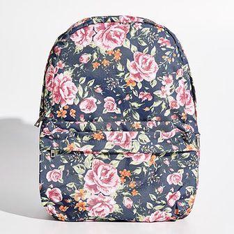 Sinsay - Plecak w kwiaty - Wielobarwn