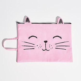 Sinsay - Piórnik kot - Różowy