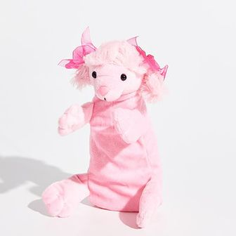 Sinsay - Piórnik pies - Różowy