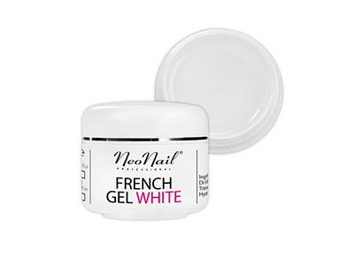 Żel French biały-naturalny 15 ml