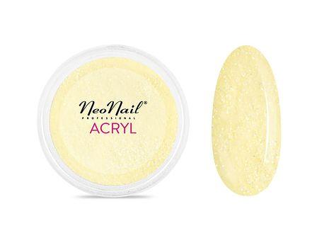 Proszek akrylowy 5 g - jasny żółty z drobinkami