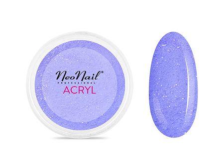 Proszek akrylowy 5 g - niebieski z drobinkami