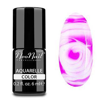 Lakier Hybrydowy 6 ml - Fuchsia Aquarelle