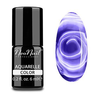Lakier Hybrydowy 6 ml - Violet Aquarelle