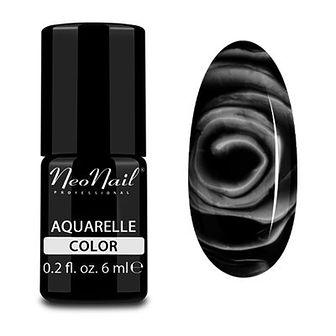 Lakier Hybrydowy 6 ml - Black Aquarelle