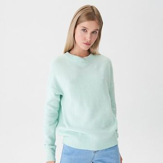 House - Sweter basic - Zielony