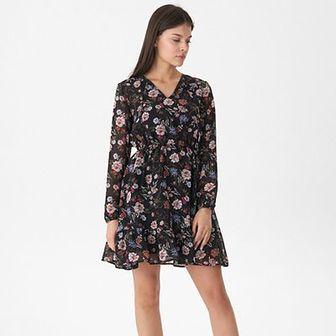 House - Sukienka w kwiaty - Wielobarwn